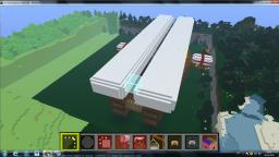 Hospitalier class Airship, NOT FINISHED YET!!! Minecraft Map & Project