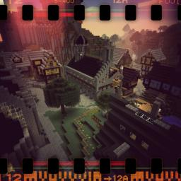 [Medieval port] The Noun Minecraft Map & Project