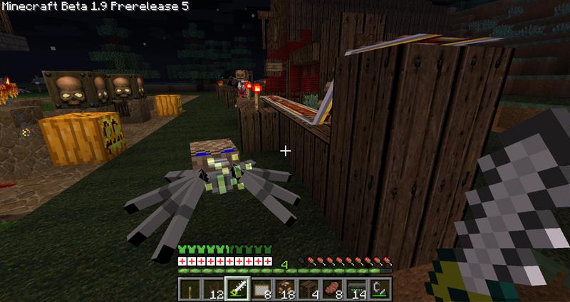 An Arachnotron attacks !
