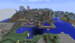 Multi-Destination Minecart Station Minecraft Project