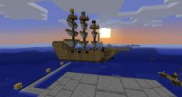 Pirate Ship Minecraft Map & Project