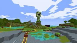 Creeper Totem (blow-up-able) Minecraft Project