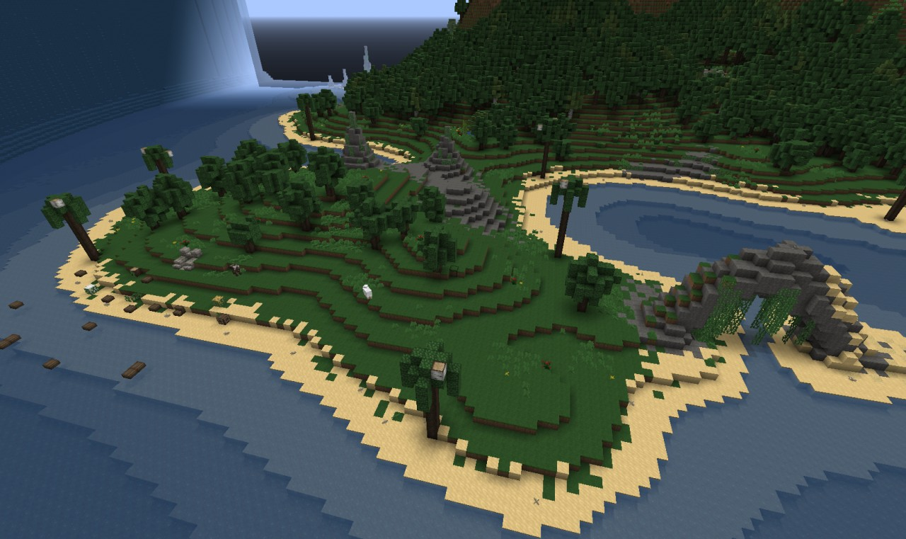 Beach close to the spawn area.