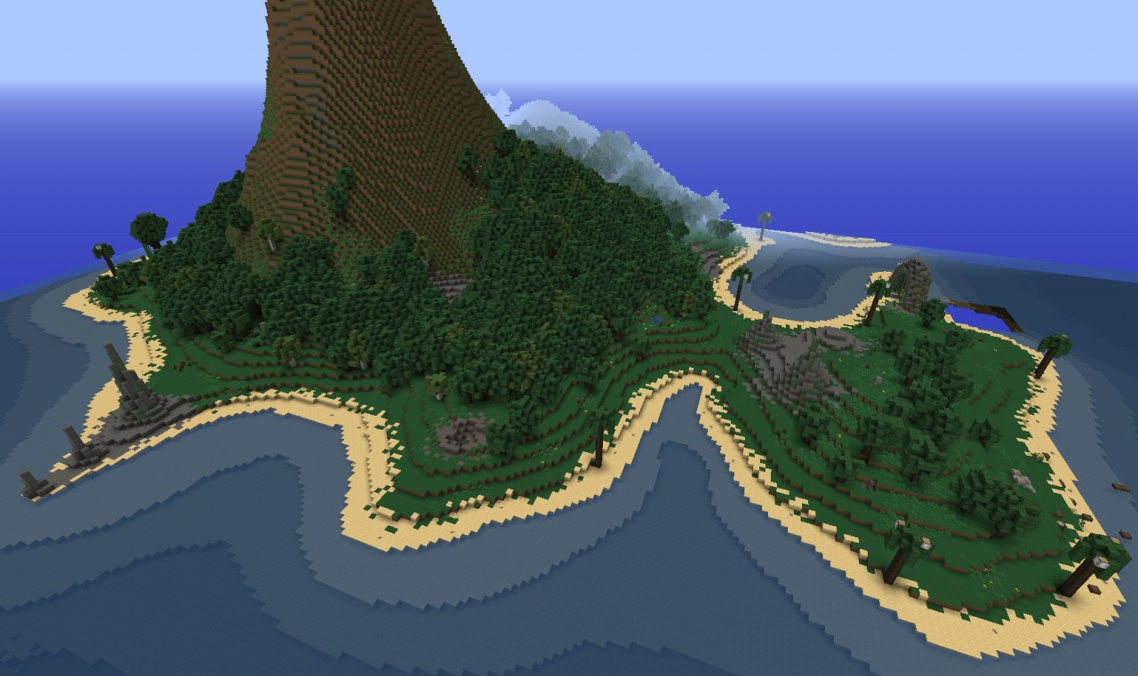 карты для майнкрафт острова