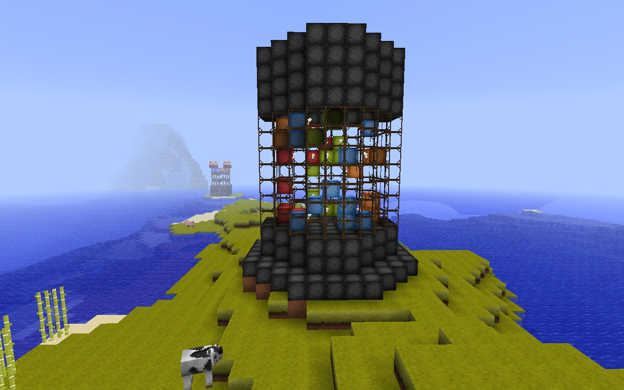Lava Lamp Minecraft Lava Lamp Minecraft Project How To
