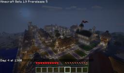 Medieval Town 2.0 Minecraft Map & Project