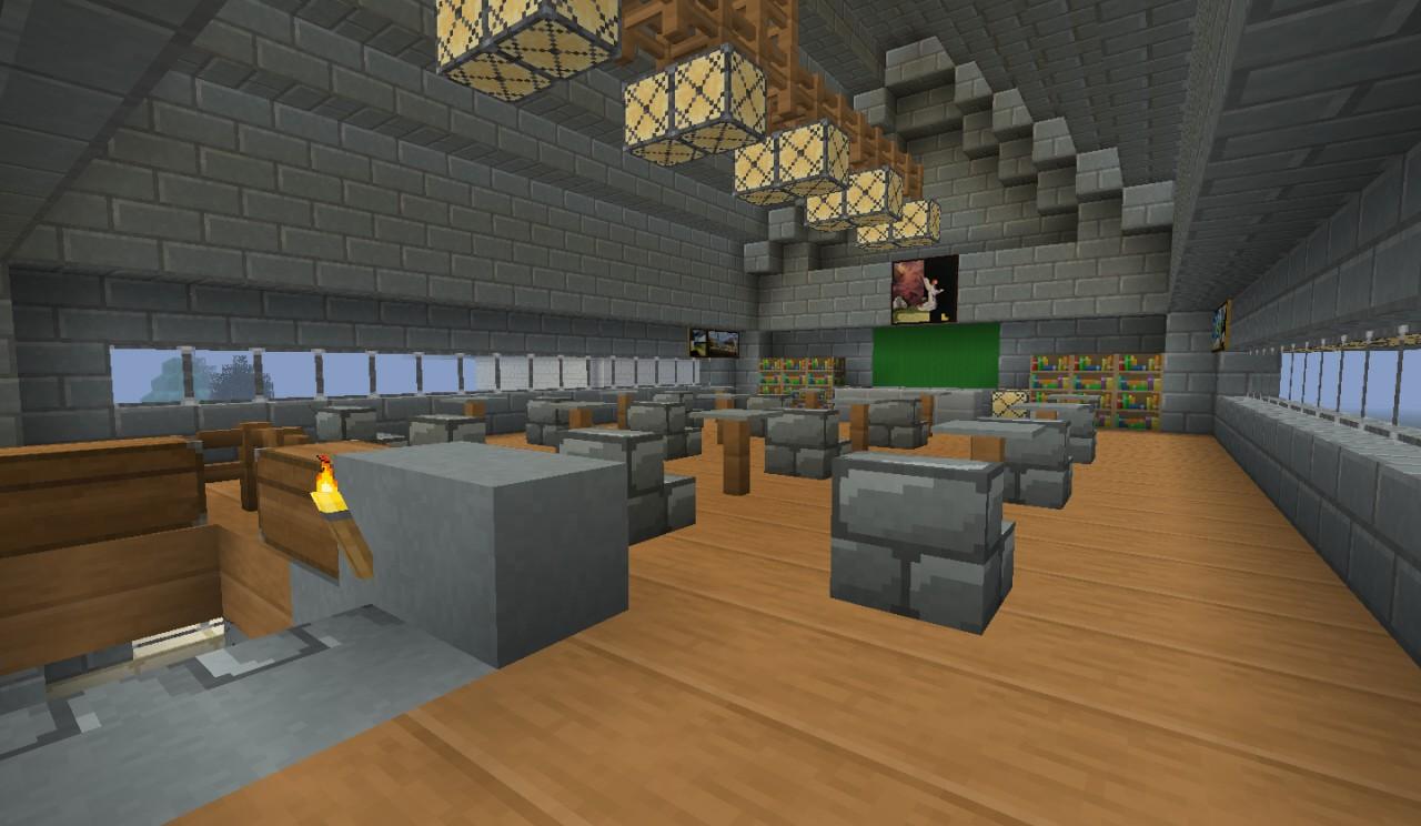 Village School Minecraft Project