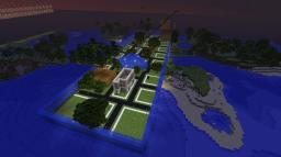 Walls of Water Town Minecraft Map & Project