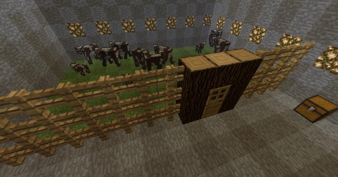 Cow Pen Minecraft Cattle Pen Minecraft
