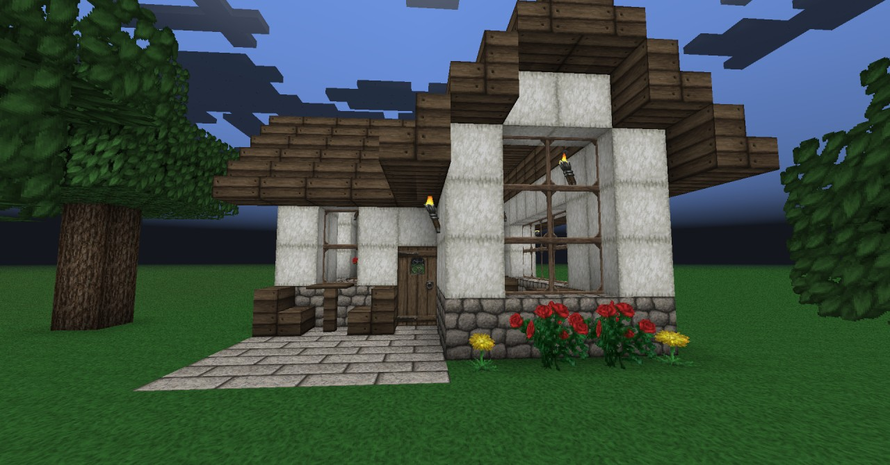 Small cute house minecraft project for Photos of cute houses