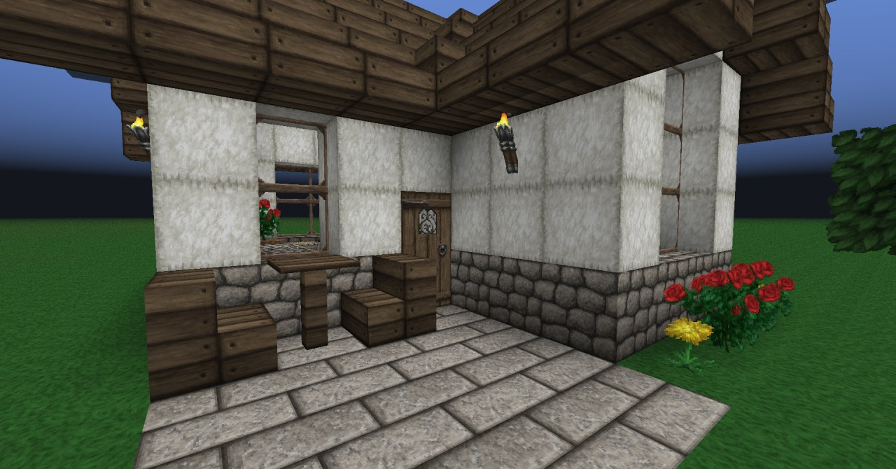Small Cute House Minecraft Project