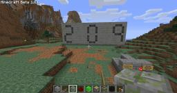Ultra Compact 0-999 Counter Using Pistons (11x26x31 blocks!) Minecraft Map & Project