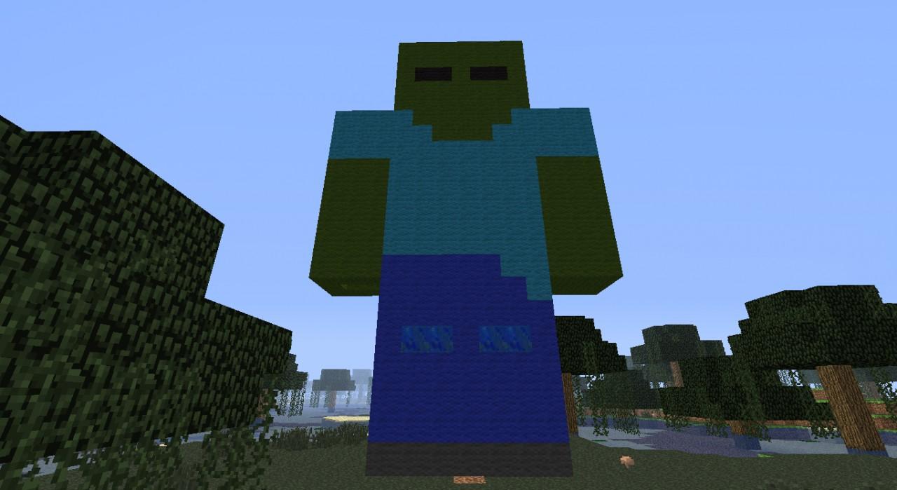 minecraft giant zombie