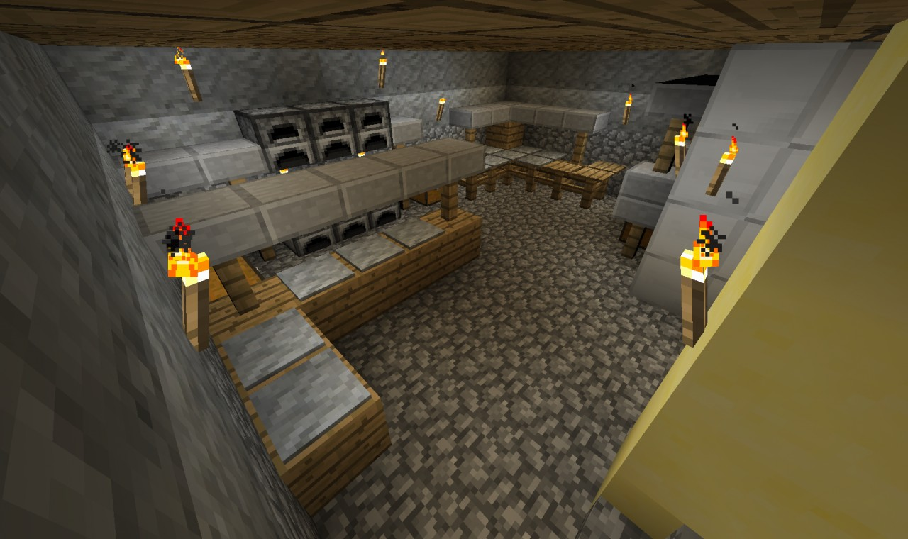 Minecraft Kitchen Floor