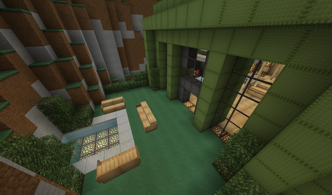 how to build a bowling alley in minecraft