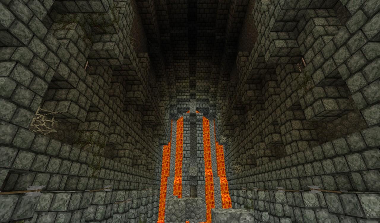 карты на волны монстров в подземелье на майнкрафт #10