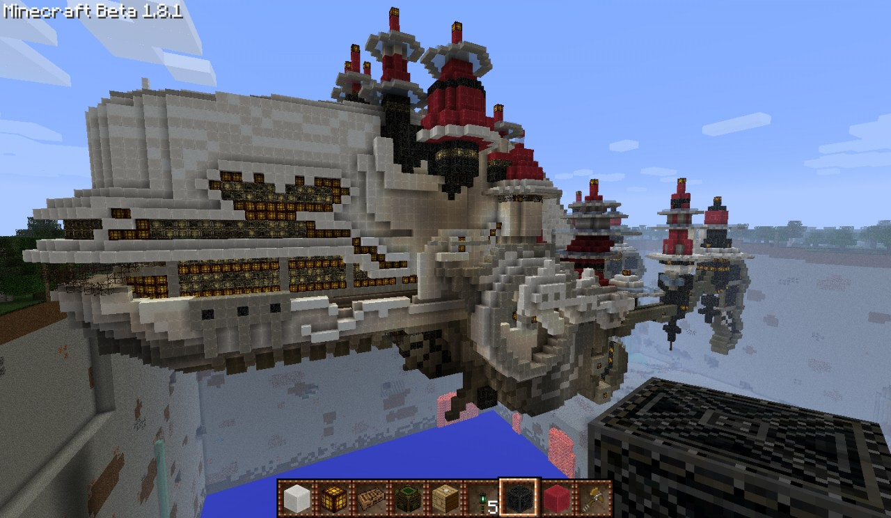 ifrits ff12 airship minecraft project