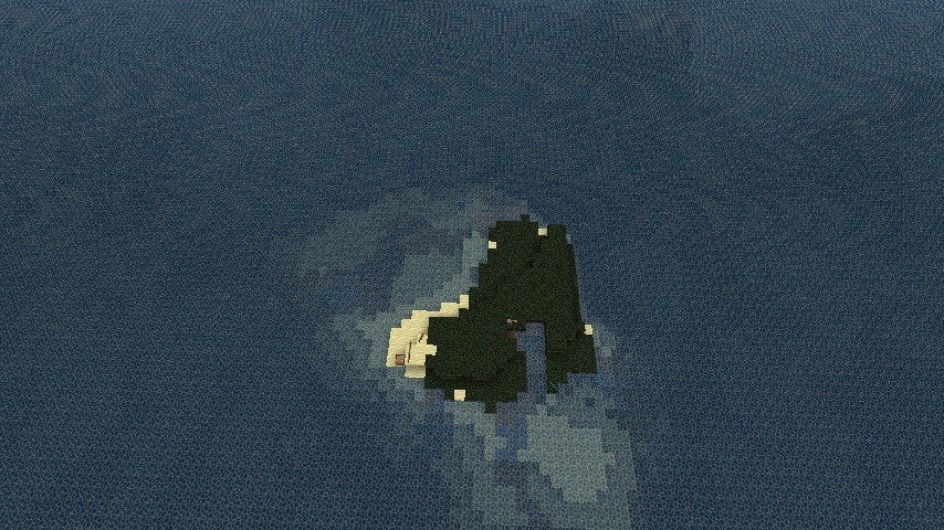 The spawning survival island