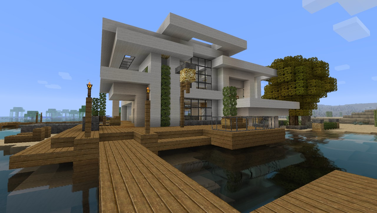 1000 ideas about minecraft small modern house on for Home design resources