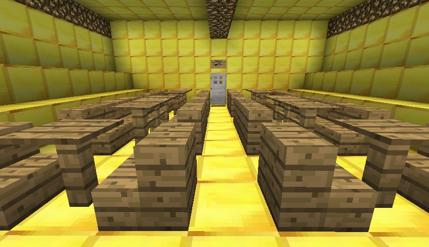 how to build a yellow submarine in minecraft