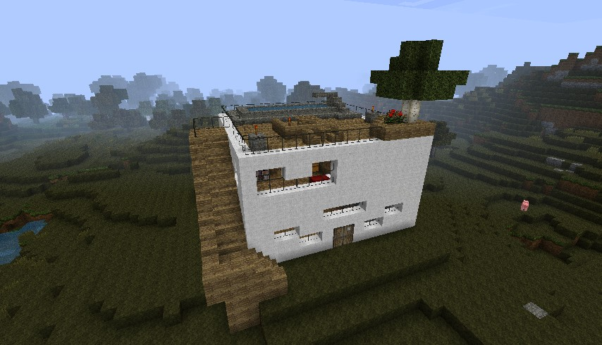 Modern Day House By Skater Dlo Minecraft Project