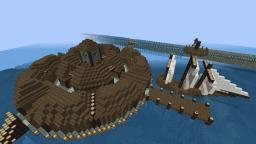Sea Town (Schematic Included) Minecraft Map & Project
