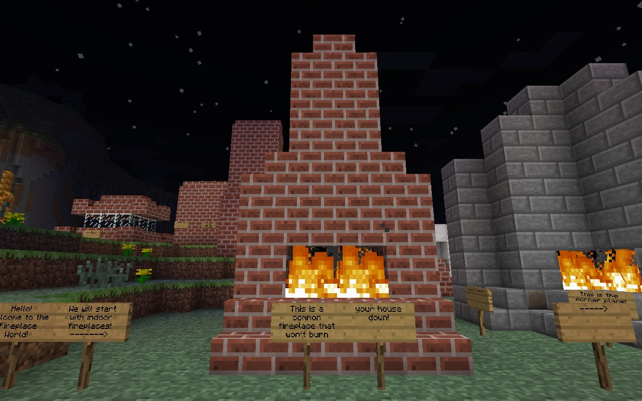 how to make a fireplace in minecraft pc games wonderhowto my take