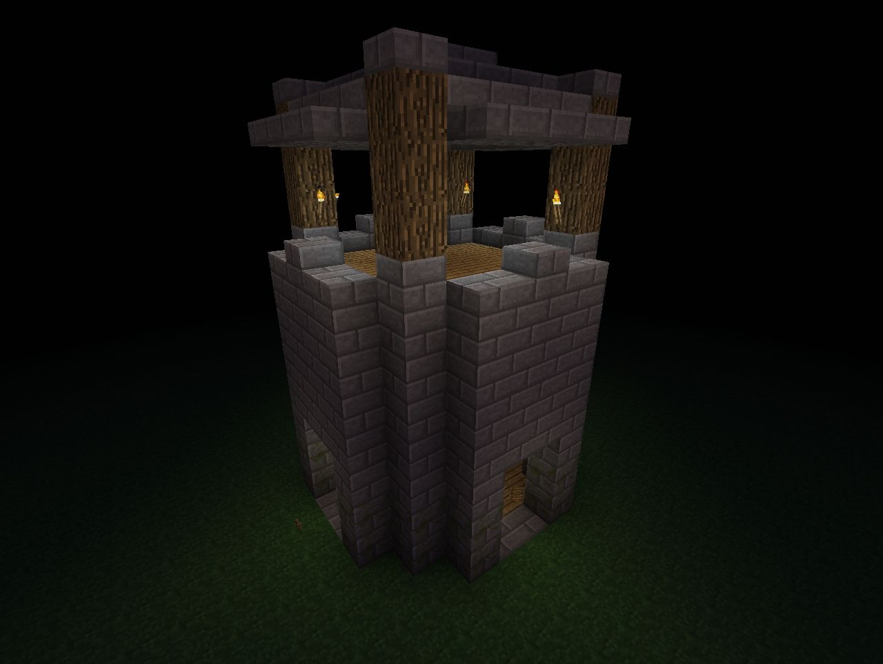 Sniper Sentry Tower Minecraft Project