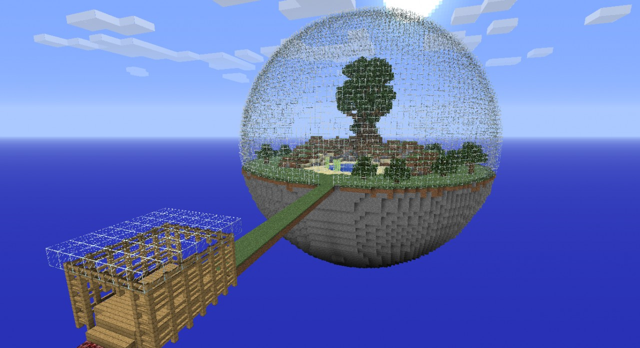Two Planet Survival! Minecraft Map