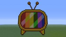 Giant Tv Minecraft Project