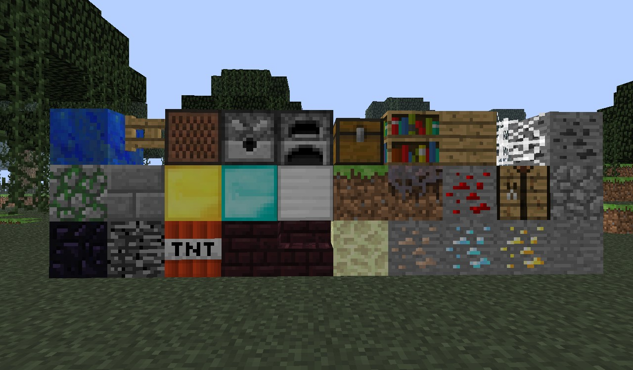 Some blocks that I edited