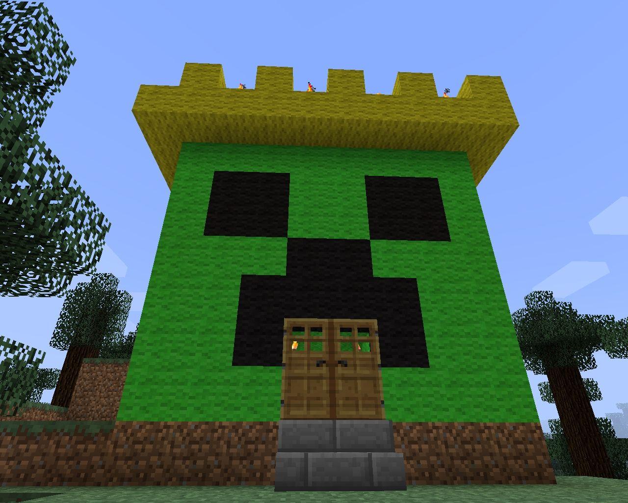 Minecraft House Living Room