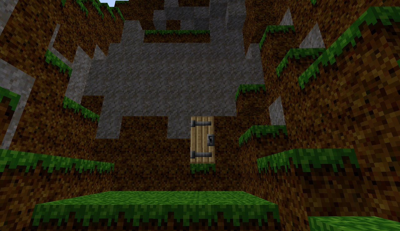 Cave House Minecraft Project