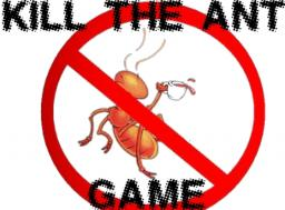 KILL THE ANT GAME