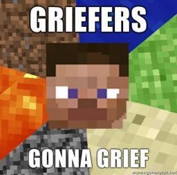 Greifing ~Big Outline~ Minecraft Blog