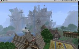 Sky Citadel of Celestia *world save* Minecraft Map & Project