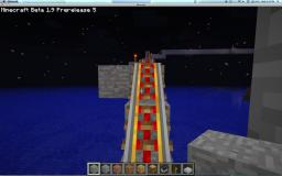 ROLLER COASTER!!!!!! Minecraft Map & Project