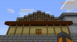 Half-craft 2 (train station) Minecraft Project