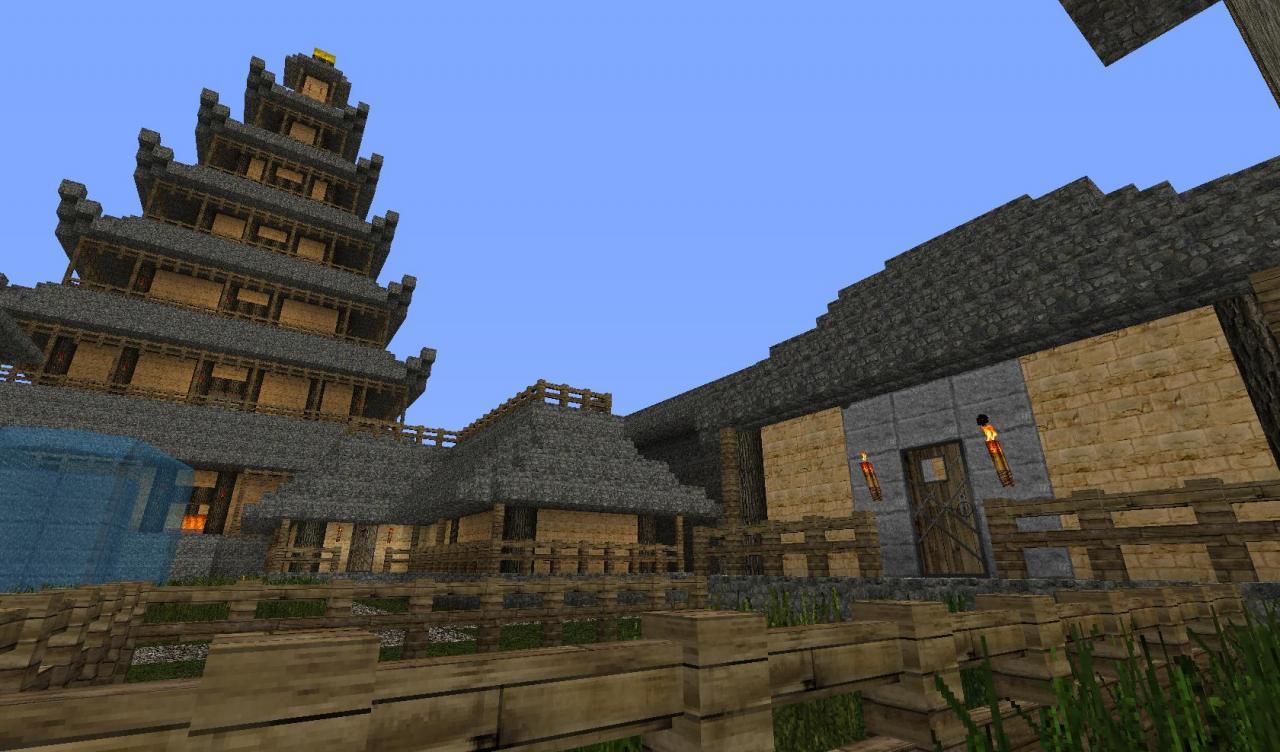 japan village minecraft