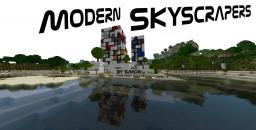 Modern Skyscrapers [Schematic/World Save] Minecraft Project