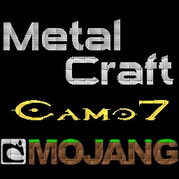MetalCraft: the Metalic Texture Pack [1.2.4] Minecraft Texture Pack