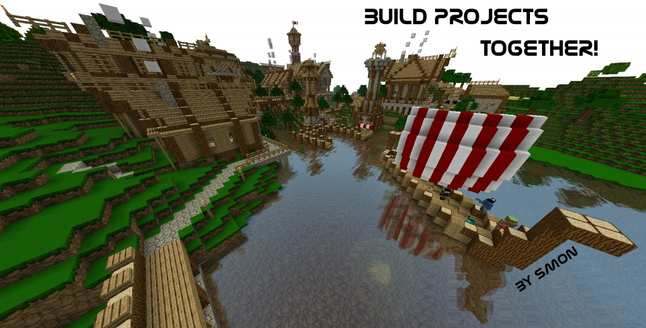 Create awesome buildings together! (Picture: /warp viking)