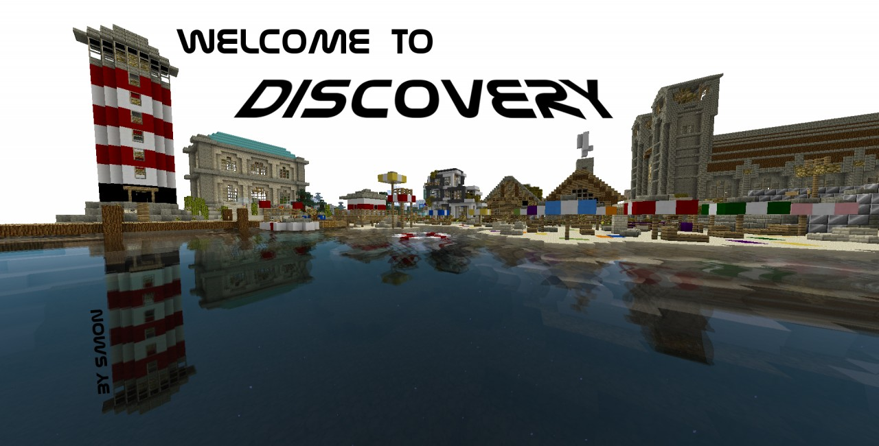 Welcome to our Server! (Picture: /warp seaport)