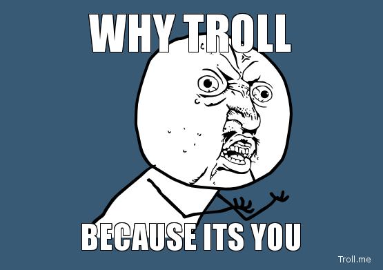 Why the FU** you keep trolling Minecraft Blog