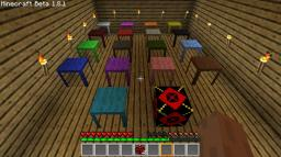 17 different Tables, JumpPad and Cooked Egg!! V.1.1 Minecraft Mod
