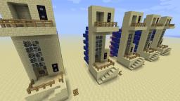 6x7 Piston Elevator Up+Down Function [Vid Tutorial!] Minecraft Map & Project
