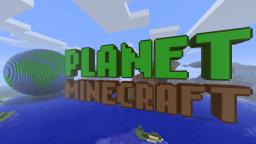 HUGE Planet Minecraft Globe & Logo in 3D!!!