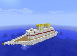 U.S.S czar in solaria Minecraft Map & Project