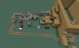 ~AUTOMATIC MINECART STATION~ (Pre Release 6) By SovietMiner Minecraft Map & Project
