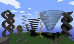 Super Spiral Generator [WorldEdit Scripts] Minecraft Mod